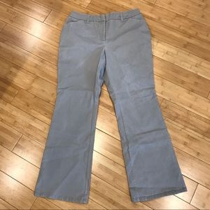 Chico's Light Gray Khaki Pants